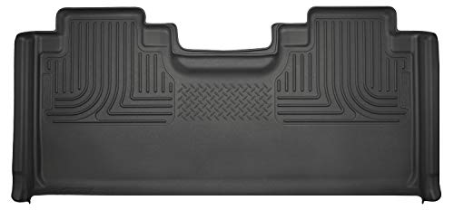 2019 Ford F-350 Ranch - Husky Liners Black Weatherbeater 2nd Seat Floor Liner Fits 2015-19 Ford F-150 SuperCab, 2017-19 Ford F-250/F-350 SuperCab