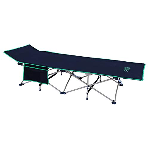 OSAGE RIVER 450lb Camping Cot with Optional Pocket Cupholder and Carry Bag, Portable Bed for Adults or Kids