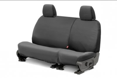 Covercraft Gray Cover (Covercraft SeatSaver Second Row Custom Fit Seat Cover for Select Ford F-150 Models - Polycotton (Grey) by Covercraft)