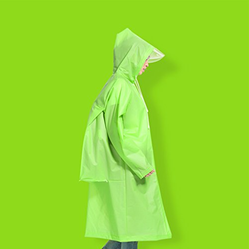 Raincoat Raincoat adulte  pied Ms Outdoor Men And Women Transparent Raincoat Poncho Alpinisme Voyage Thickening Allong individuelle Impermables Veste impermable ( couleur : N  4 , taille : Xl ) N  2