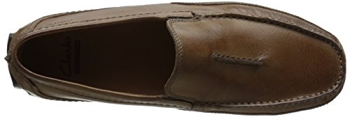 Clarks Mens Ashmont Race Slip-on Loafer Tan