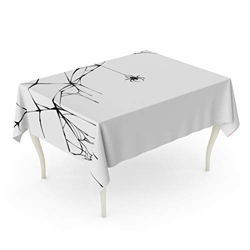Tarolo Rectangle Tablecloth 60 x 84 Inch Silhouette