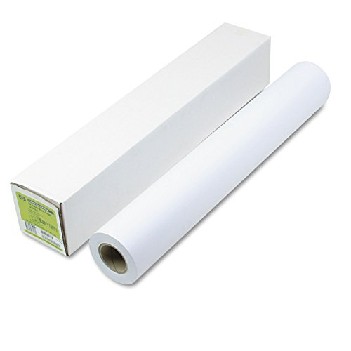"Universal Bond Paper, Inkjet Printable, Crisp Lines, WE, 24"" Width x 150'/Roll HEWQ1396A"