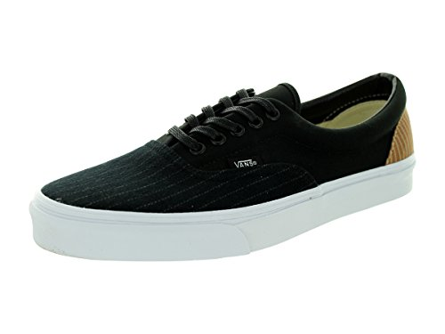 Adulto Unisex stripe Vans black Era Zapatillas 2 Classic Canvas wZR1w