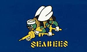 Navy Seabees Flag from Sportsworld