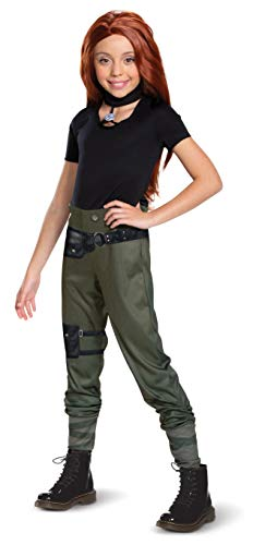 Disguise Kim Possible Classic Child Costume Costume, M (7-8) Black]()