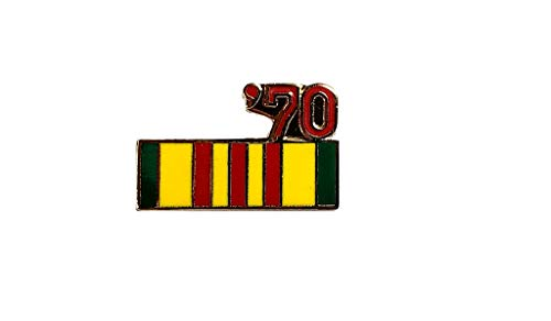 Vietnam Veteran 1970 Ribbon Lapel Hat Pin Marines Army Navy Air Force PPM798