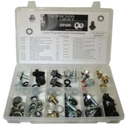 114 Pieces TMRDP600 Drain Plug And Gasket Assortment
