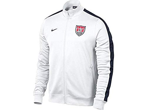 Nike Men's N98 USA Soccer Jacket Authority 547036-100 (X-Large) - Nike Usa Long Sleeve Jersey