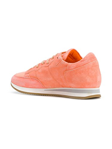 Philippe Model Damen TRLDND01 Orange/Weiss Leder Sneakers