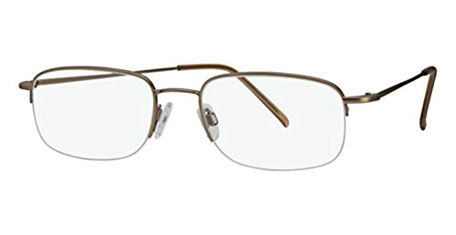 Flexon Flx 806Mag-Set Eyeglasses 905 Light Bronze Demo 52 19 140 ()