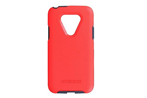OtterBox SYMMETRY SERIES Case for LG G5 – Retail Packaging – PREVAIL (CORAL/GUNMETAL GREY)