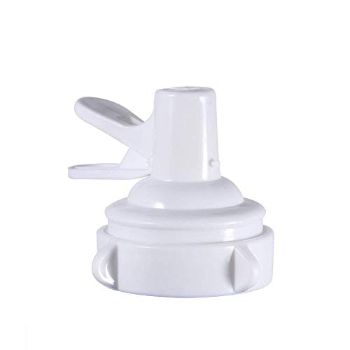 Water Dispenser Valve for 55mm Non Threaded Crown Top, Reusable Plastic Gallon Water Bottle Cap Faucet include Lid Dirt Protector