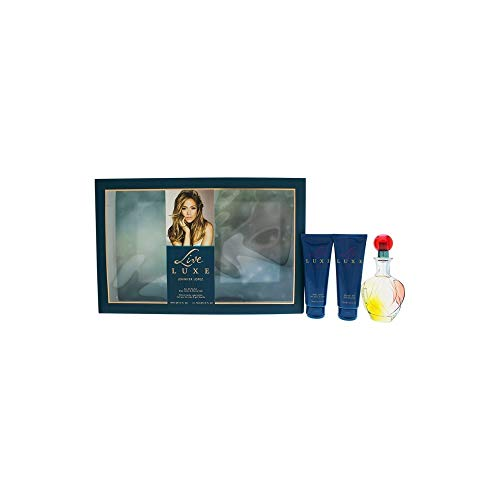 Jennifer Lopez Live Luxe By Jennifer Lopez for Women - 3 Pc Gift Set 3.4oz Edp Spray, 2.5oz Shower Gel, 2.5oz Body Lotion, 3count (Live Jennifer Lopez Perfume)