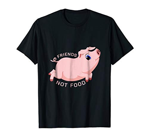 Pigs Food (Pigs are Friends not FOOD T Shirt)
