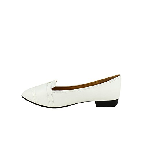 Femme Shoes Blanches Cendriyon Ballerines MetL Chaussures wqXgvz6t
