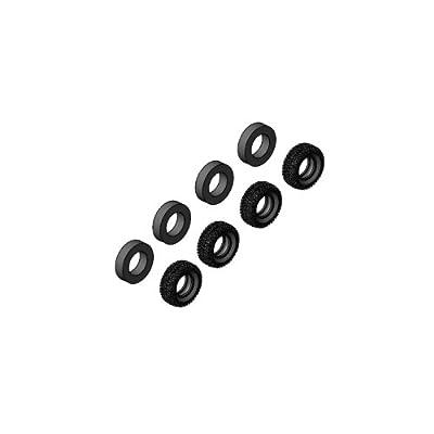 Integy RC Model Hop-ups CRA-147 Tire Set 98mm For Crawler EX