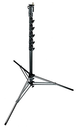 Manfrotto 269HDBU 24-Feet Super High Aluminium Stand with Leveling Leg - Special Order (Black) by Manfrotto