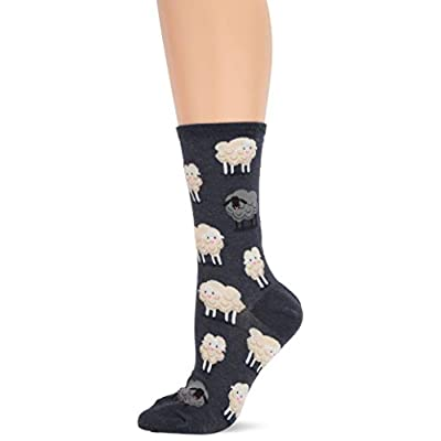 Hot Sox Women's Animal Series Novelty Casual Crew Socks: Clothing