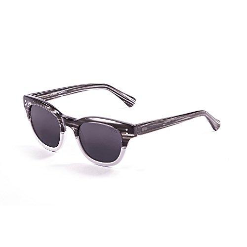 Ocean Sunglasses Santa Cruz Lunettes de Soleil Mixte Adulte, Demy  Black White Down  ... 9c768e8dea93
