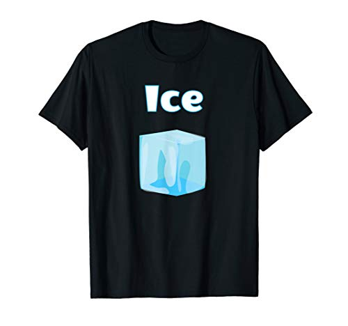 Matching Couple Halloween Costume T-Shirts - Fire and Ice -
