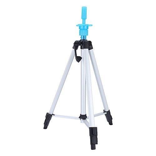 ZJchao Cosmetology Mannequin Head Tripod Stand for training head doll stand holder Carry Bag 55''