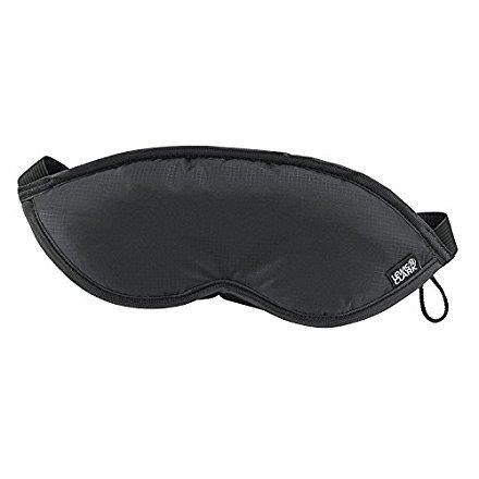 Lewis N. Clark Comfort Eye Mask (2 Pack, Black) from Lewis N. Clark