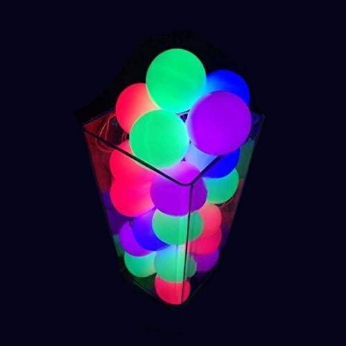 ブラックライトパーティーバルーン(30パック)ネオン花盛りラテックス風船 (60枚)