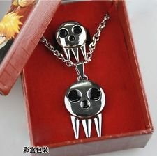 Mixmax Death the Kid Ring Inspired Pendant Necklace + Ring Set