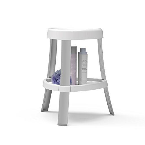 Better Living Products 70061 Spa Shower Seat with Shelf, White by Better Living (Image #1)