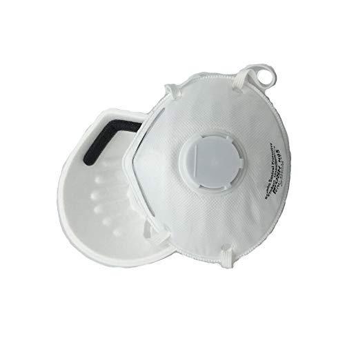 Valvula N95 De Polvo Doméstico Respirador Uso Máscara - Anti Jadeshay Mascarilla Profesional Contaminación Para Pm2 15 5 Piezas Desechable