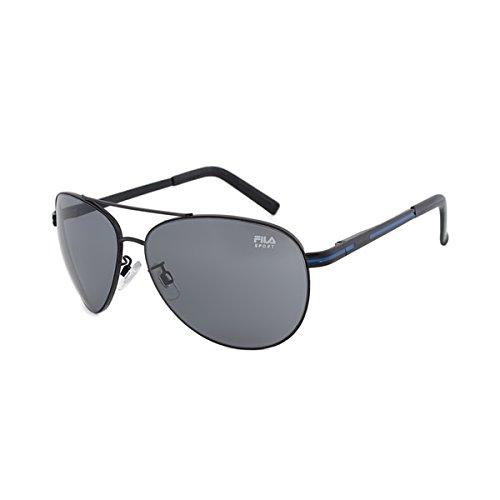 Fila Sunglasses, Matte Black, - Fila Sunglass