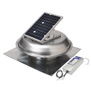 500 Cfm Solar Powered Roof Mount Exhaust Fan