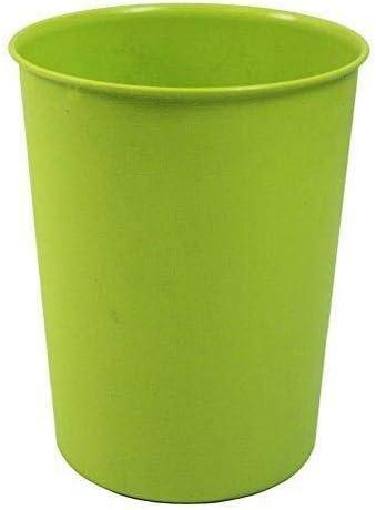Gr/ün Hacoly Papierkorb Kunststoff Hoch Papiereimer Papierk/örbe M/ülleimer Convenient Durable M/üllkorb f/ür B/üro Badezimmer Wohnzimmer Abfalleimer