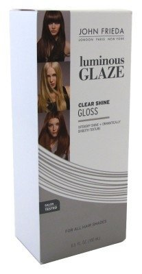 John Frieda Luminous Glaze Clear Shine Gloss 6.5 Ounce (1...