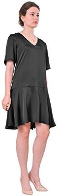 Marycrafts Womens Drop Waist Dress Vintage 1920s Retro Rockabilly