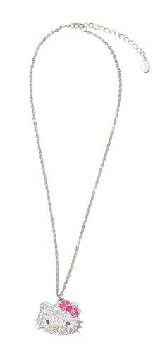 Hello Kitty Diecut Rhinestone Necklace