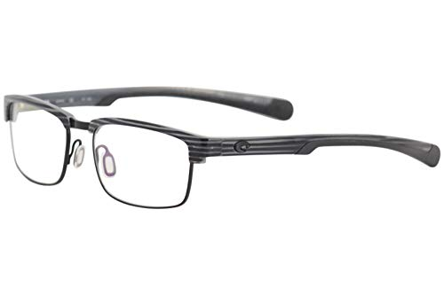 Costa Del Mar Eyeglasses Pac-Rise PCR100 28 Silver Teak/Black Optical Frame 54mm