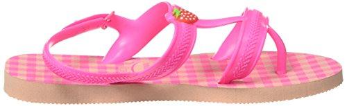 Pink Cinturino schocking Bambina ballet Rose Caviglia Sandali Spring Rosa Joy Havaianas Fluor Con Alla UqBx76nTw