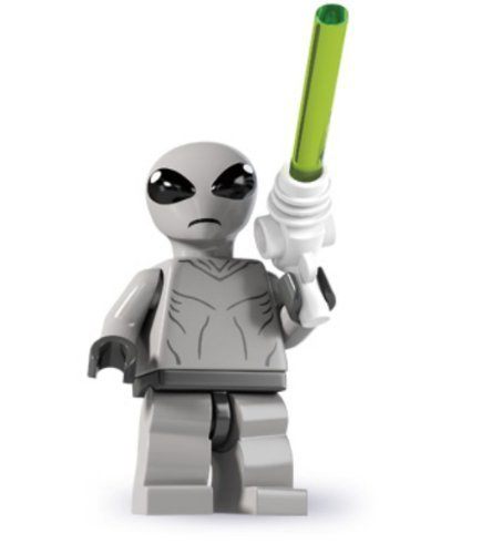 LEGO Minifigures Series 6 Classic Alien COLLECTIBLE Figure pyramid little gray men Area 51