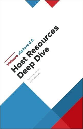 VMware vSphere 6 5 Host Resources Deep Dive: Frank Denneman