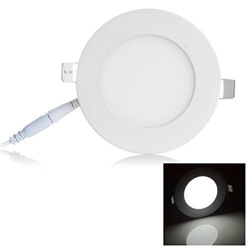 6W 326lm Ceiling Light White Light 6000K 30-SMD 2835 LED (AC 100~240V)