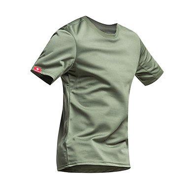 6acc73efde77 OLQMY-Men s Short Sleeve Bike T-shirt Quick Dry Ultraviolet Resistant  Moisture Permeability Breathable