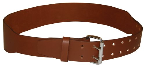 BucketBoss 88963 U.S. Leather Work Belt Fits 37-Inch to 46-Inch waist. by Bucket Boss