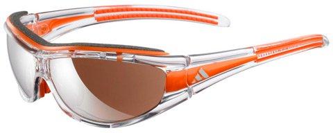 Adidas Sonnenbrille Evil Eye Pro L (A126) race transparent/orange