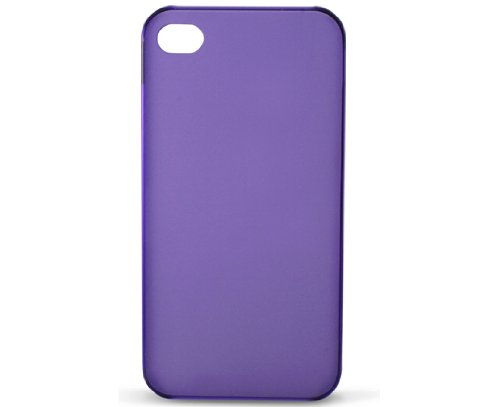 KSIX B0917CAR32 Ultra Thin Cover für Apple iPhone 4/4S lila