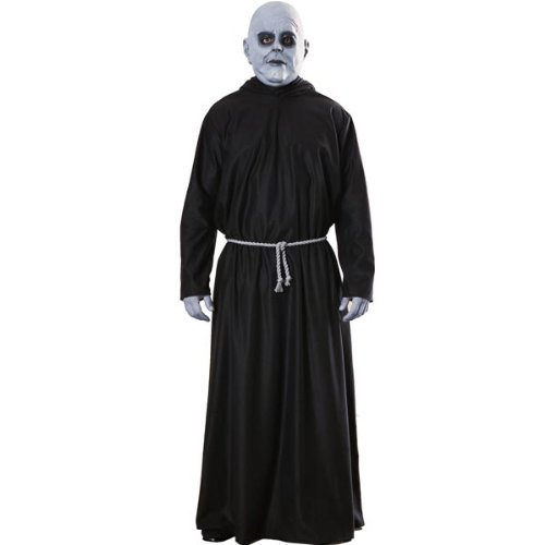 [Rubies Addams Family Uncle Fester Adult Halloween Costume - Standard] (Halloween Costumes For The Family)