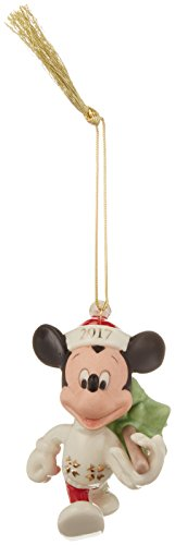 Bone Christmas Tree Ornament (Lenox 2017 Trimming the Tree Mickey Ornament)