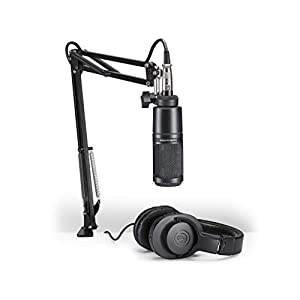 Audio-Technica AT2020 Cardioid Condenser Stud...