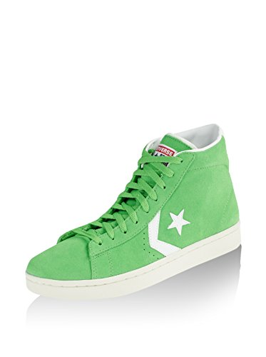 Converse Zapatillas Hi Leather Mid Verde EU 44